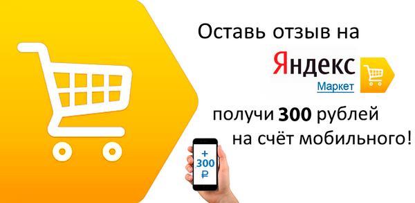 300 рублей за отзыв